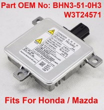 1PCS 12V 35W D4S OEM HID Xenon Headlight Ballast Computer Control Unit Car Vehicle Part Number BHN3-51-0H3 Fits For Honda Mazda 1pcs 12v 35w d1s d2s oem hid xenon headlight ballast computer control unit car part number 63117237647 fits for bmw rolls royce