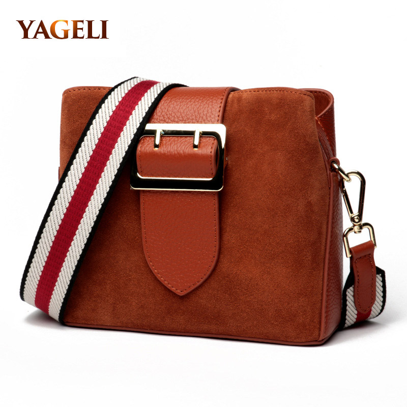 FASHION women genuine leather handbags matte leather bucket women shoulder messenger bags luxury designer lady crossbody bags fashion leather handbags luxury head layer cowhide leather handbags women shoulder messenger bags bucket bag lady new style