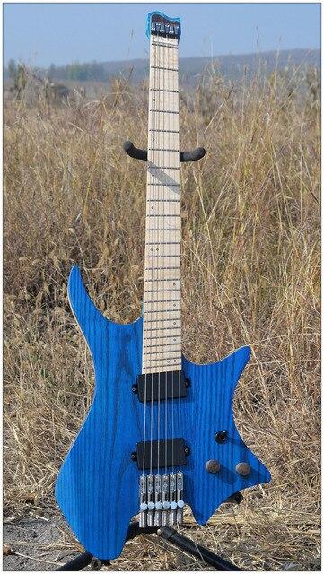 NK Headless guitar Fanned Fret guitars - free shipping 1