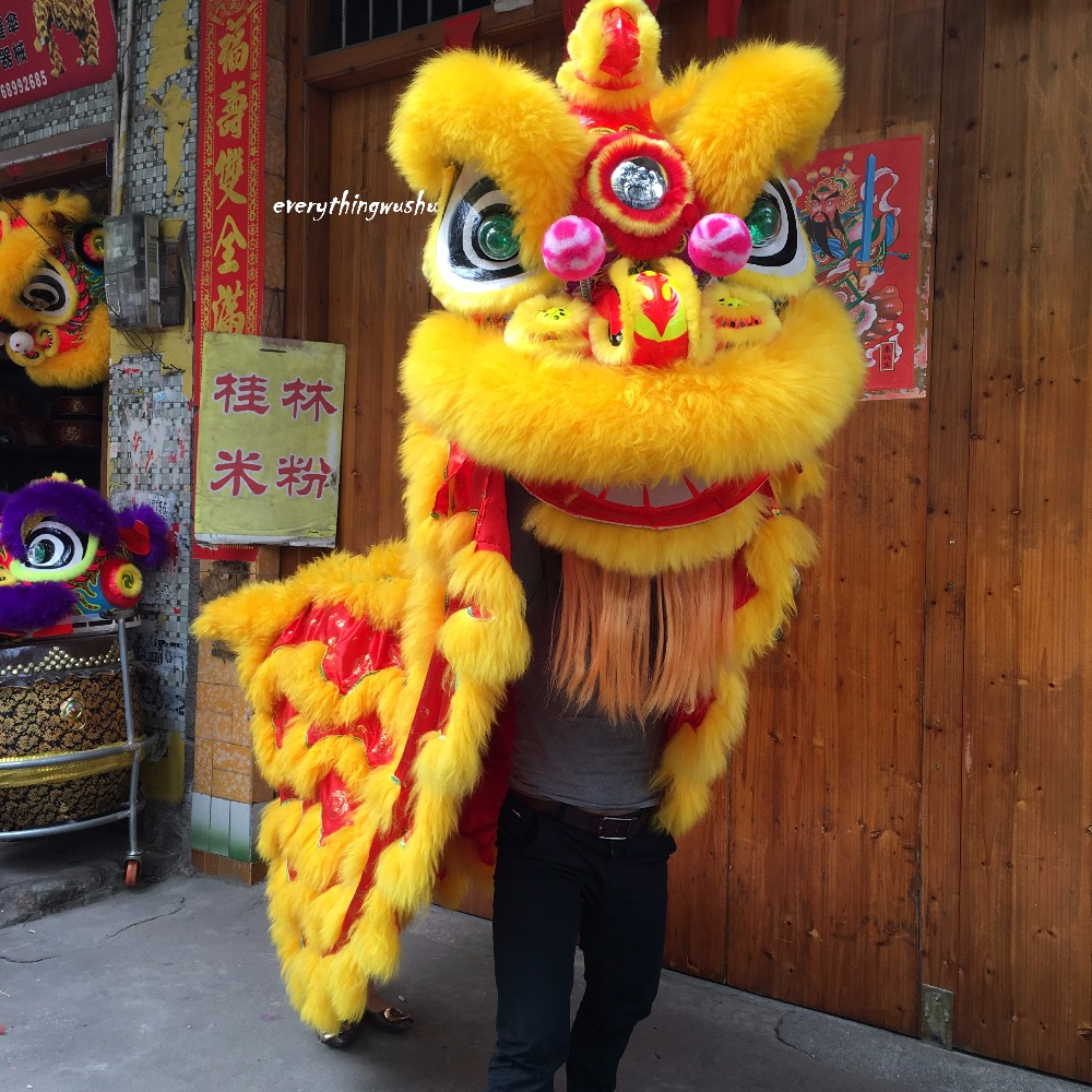 8994697c9 Southern Style Lion Dance Costume Equipment Foshan Lion Dance Performance  Costume
