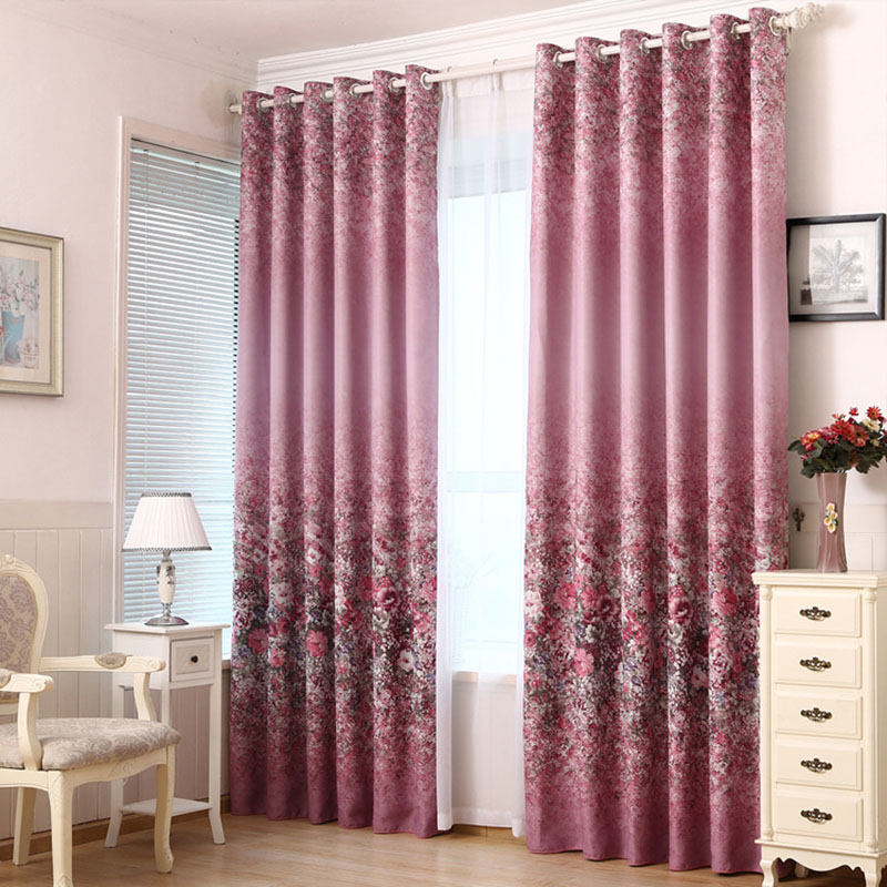 Popular Floral Country Curtains Buy Cheap Floral Country