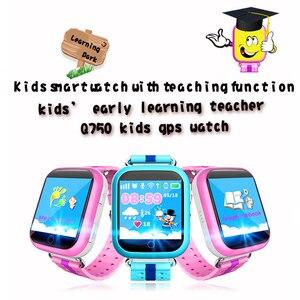 Image 4 - GPS חכם שעון Q750 Q100 תינוק חכם שעון עם 1.54 אינץ מגע מסך SOS שיחת מיקום מכשיר Tracker עבור ילד בטוח PK Q50 Q90