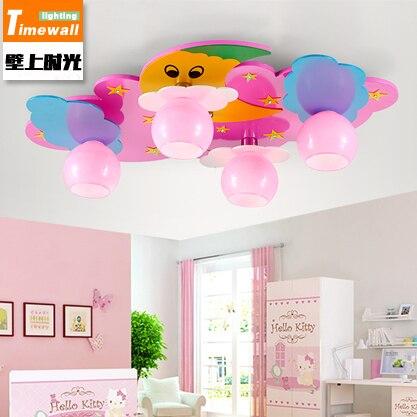 US $142.77 23% OFF|CM057 LED kinderzimmer deckenleuchte warmes schlafzimmer  cartoon kinder kindergarten lampe junge mädchen-in Deckenleuchten aus ...