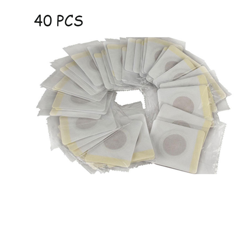 40pcs/lot Magnetic Patch Diet Slim Loss Weight Adhesive Detox Burn Fat Slimming Pads For Women