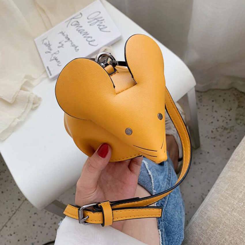 36240c4d420c LJT Brand Designer Women's Funny Personality Creative Animal Shape Cute  Small Shoulder Messenger Bag Handbags Purse for Birthda