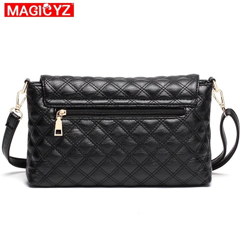 d4e0d86c0240 MAGICYZ Women Plaid Messenger Bags V letter Designer Quilted Handbags  Shoulder Women Crossbody Bag Ladies Envelope Clutch-in Shoulder Bags from  Luggage ...