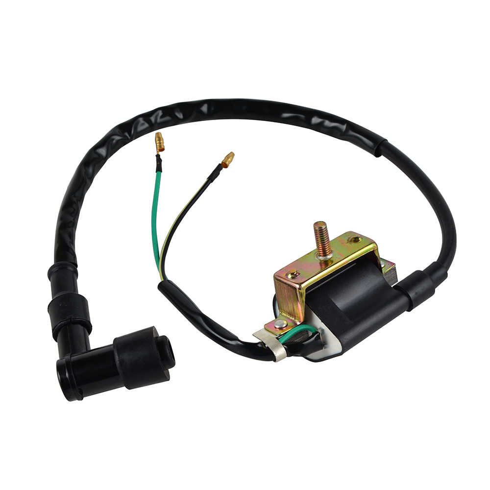 2 wires ignition coil 6v for honda z50 ct70 c70 cl70 xl70 sl70 moped scooter [ 1000 x 1000 Pixel ]