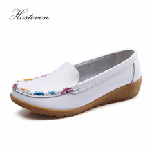Hosteven Women Shoes Sneaker Casual Loafers Flats Moccasins Genuine Leather Shoes Spring Autumn Female Ladies Footware shoes women 2017 new women genuine leather flats casual female moccasins spring summer lady loafers women driving shoes