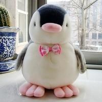 stuffed animal 35cm plush simulation penguin toy bowtie penguin doll gift w3156