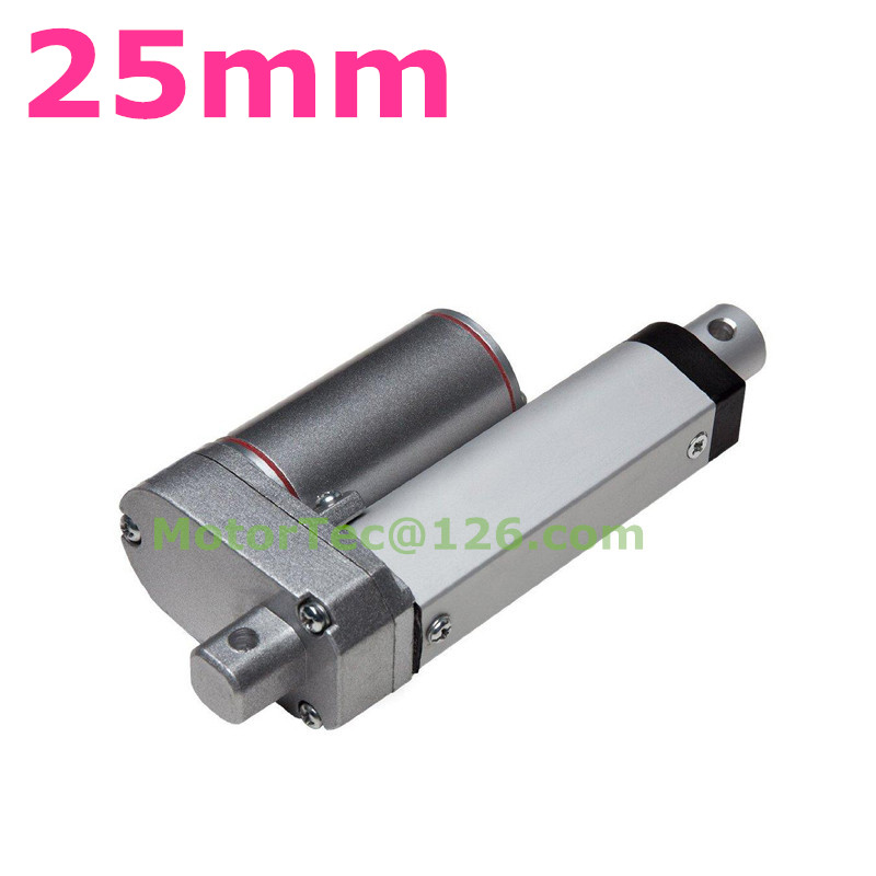 1500N 150KG 330LBS force load capacity 25mm stroke fast speed 12V 24V DC electric linear actuator,actuator linear 800mm stroke 1500n 150kg load capacity high speed 12v 24v dc electric linear actuator actuator linear