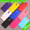 For Samsung Galaxy S5 i9600 Ultra Thin Scrub Phone Shell Frosted Plastic Matte Hard Back Case Cover Protective Shell