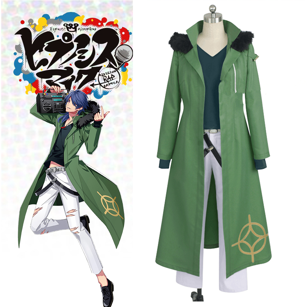 New Voice Actor Division Hypnosis Mic Division Rap Battle Arisugawa Dice Fling Posse Dead or Alive Cosplay Costume Custom Made