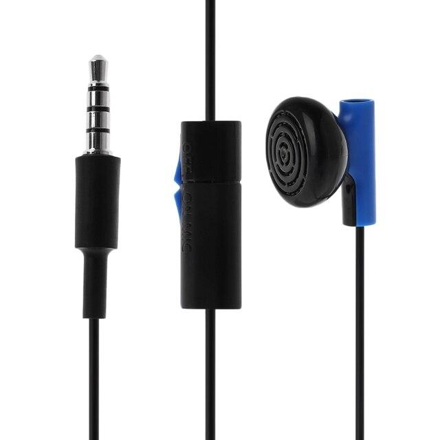 Gamepad Headset Mit Mikrofon Ohrhörer Für PS4 Controller Kopfhörer Ohrhörer