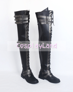 Image 4 - Final Fantasy XV Crowe Altius Cosplay Boots Shoes Anime Halloween Party Cosplay Boots Custom Made for Adult Women Long Shoes