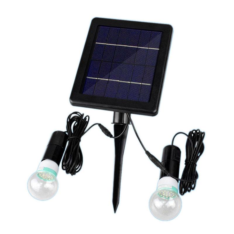купить Led Solar Light Bulb Outdoor Solar Lamp Camping For Garden Domestic Lighting LED Lights Waterproof Indoor Courtyard Lamps по цене 2483.95 рублей
