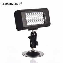 RGB 7 Colors 45 LED Strobe Light stroboscopes DJ Disco Sound Activated Projector Flash Stage Lighting Effect Lamp Party