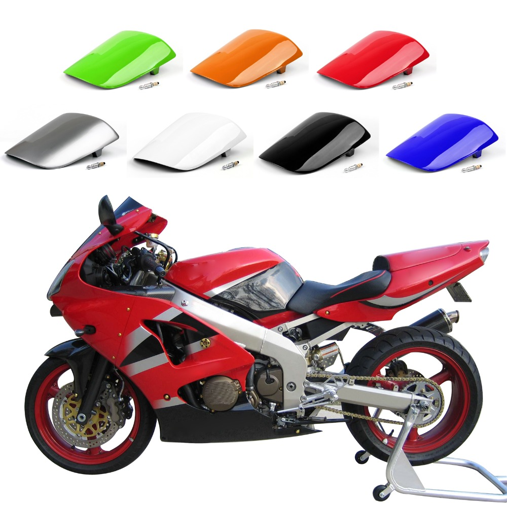 Areyourshop Motorcycle ABS Plastic Rear Seat Cover Cowl For Kawasaki ZX6R ZX 6R 2000-2002 New Arrival Motorbike Part
