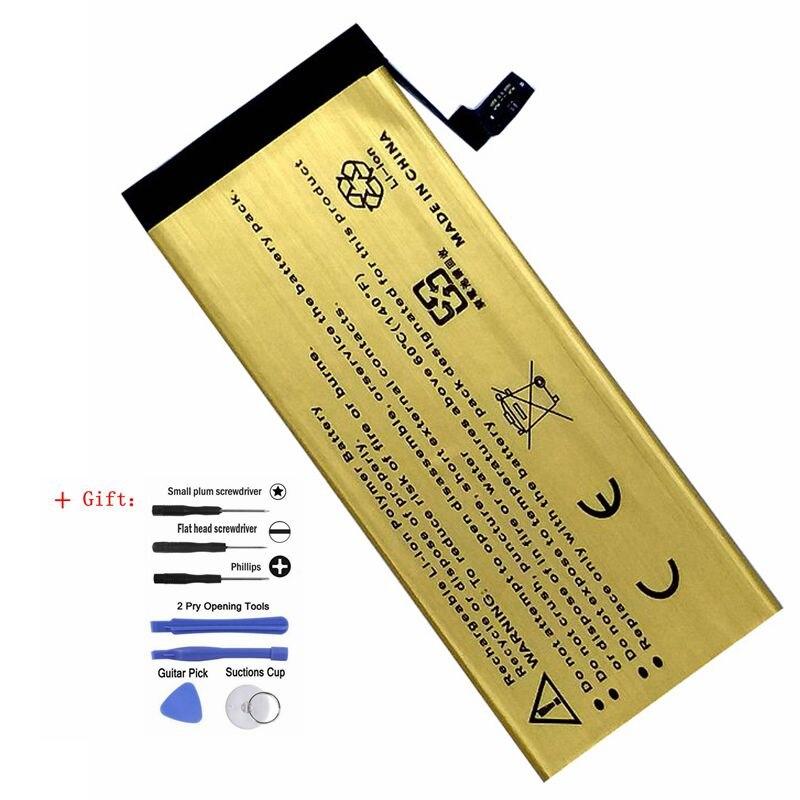 Nouveau 0 cycle Interne pour Apple iPhone 6g 6g 6 Rechargeable Téléphone Batterie Accumulateur Bateria avec des outils comme cadeau
