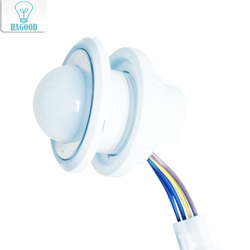 40mm Led Pir Detector Infrared Motion Sensor Switch With Time Delay Adjustable To Suit The PeopleS Convenience Home Appliances