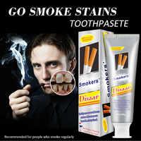 Smoke Stains Refresh Breath Whitening Toothpaste Anti Bleeding Gums Dental Plaque remover anti-halitosis 100g WD