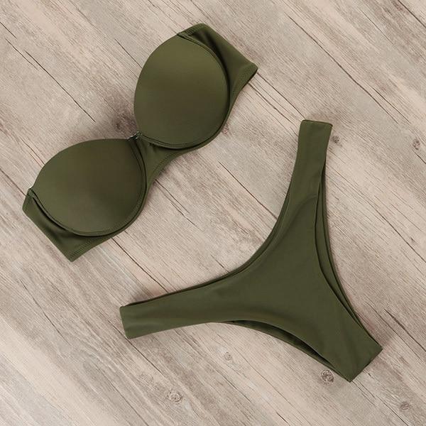 RUUHEE Bikini Swimwear Women Swimsuit 2021 Leopard Brazilian Bikini Set Push Up Bathing Suit Female Summer Beach Wear Biquini 22