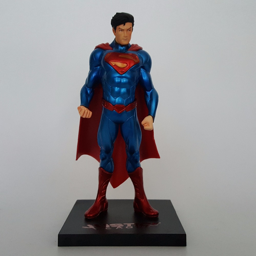 Superman ARTFX+ Justice League New52 PVC Action Figure 180MM Anime Super man Collectible Model Toy artfx statue justice league dc super hero superman 1 10 scale pre painted pvc action figure collectible model toy boxed wu1006