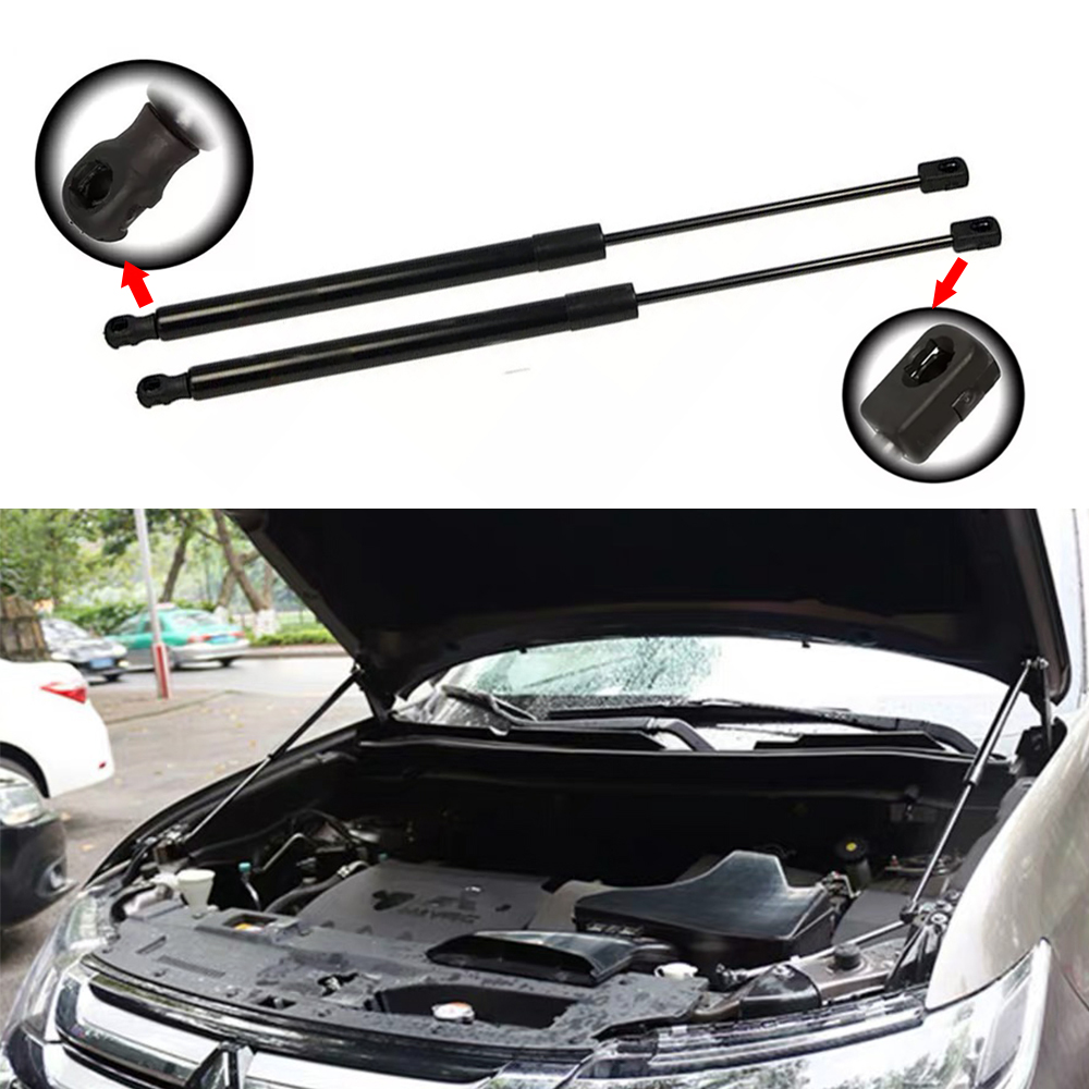 JEAZEA 8731Q1 2Pcs Tailgate Gas Spring Rear Trunk Gas Struts For Mitsubishi Outlander 2007 2008 2009 2010 2011 2012