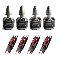 Gleagle`s 2pcs CW 2pcs CCW ML2212S 920KV 230W 2212S Brushless Outrunner RC Quadcopter Motor +4pcs 2 3S 40A SKYWALKER ESC RC Dron