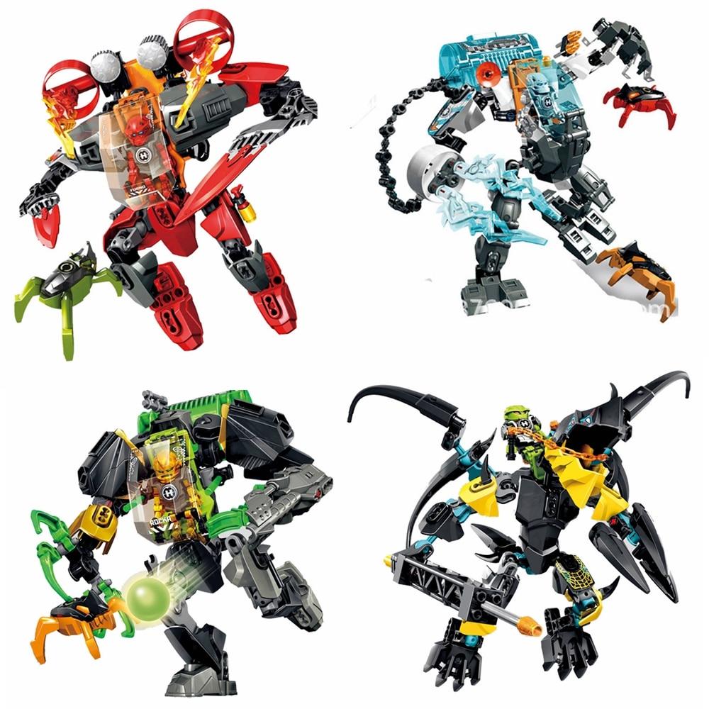 Hero Factory New Arrive STORMER FREEZE MACHINE Building Block Toys Gift