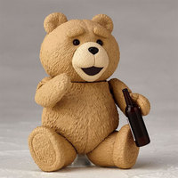 TED 2 Movie Figure 10cm Revoltech Series NO.006 Teddy Bear BJD Action Figure Joint movable Model Doll Collection Toys Kids Gift