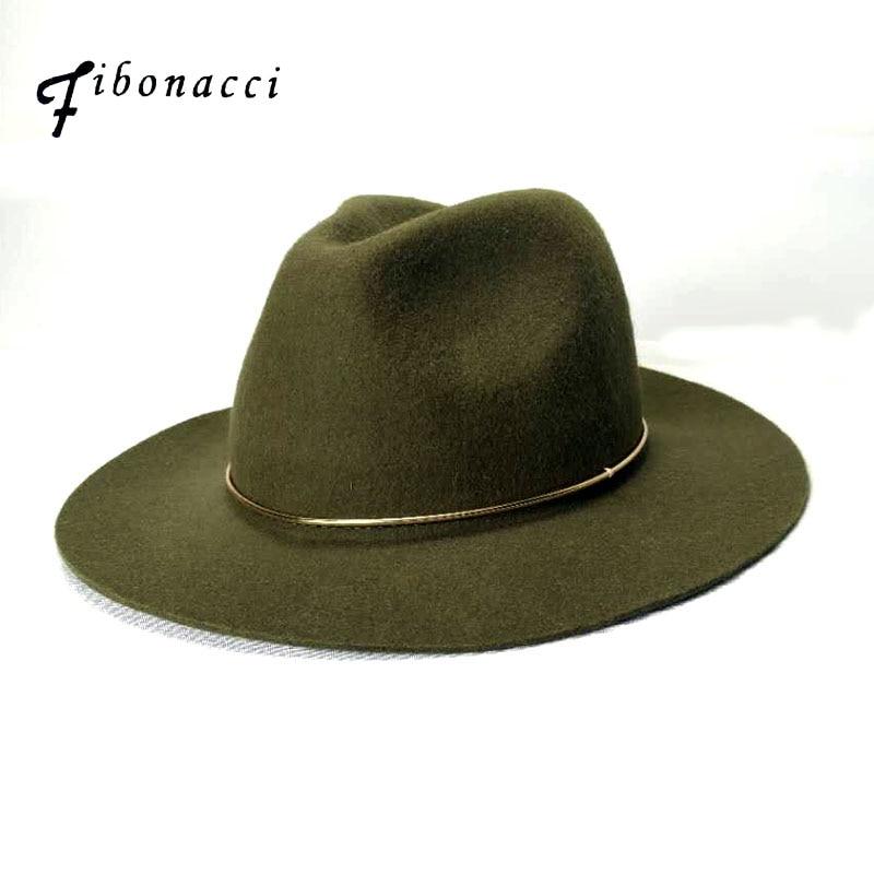Fibonacci Υψηλής ποιότητας καπέλο Jazz Unisex - Αξεσουάρ ένδυσης