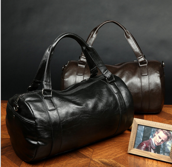 New Designers PU Leather Travel Bags Large Capacity Portable Shoulder Bags Waterproof Meaasger Bags Casual Travel Bags