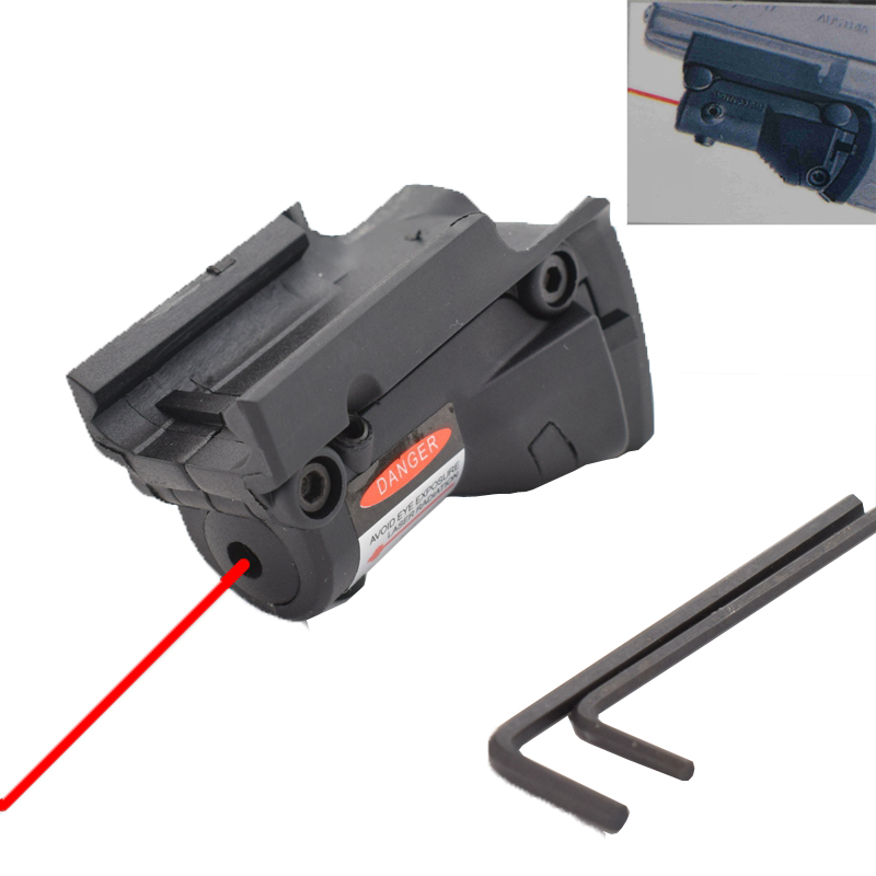 Wavelength 635 - 650 Nm Red Dot Laser for Glock 19 23 22 17 21 37 31 20 34 35 37 38 Rifle Scope 450 Metros Range image