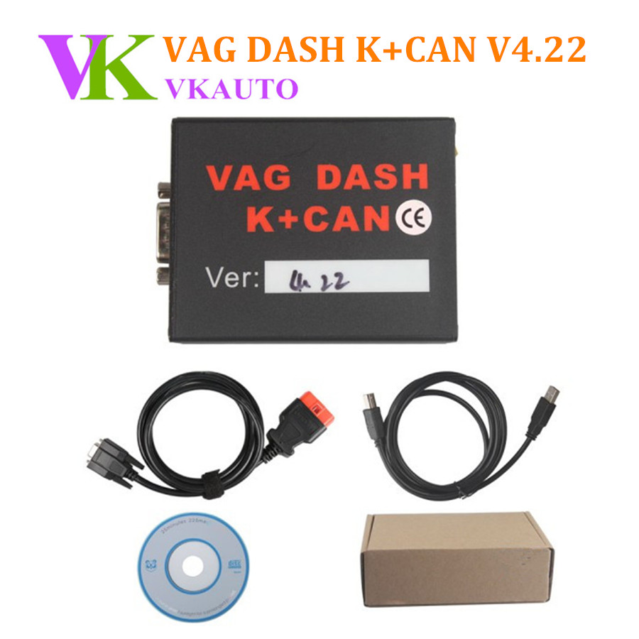 все цены на VAG DASH K+CAN V4.22 Support EDC16 / EDC15 / ME7 ECU Programmer