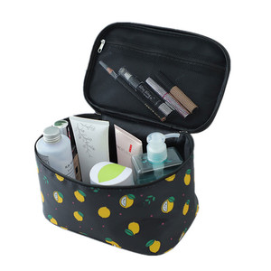 Women Printing Cosmetic Bag CaseS Toiletry Make Up Box Travel Necessarie Beauty Vanity Makeup Pouch Large Wash Storage Organizer