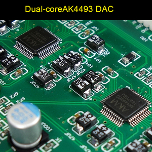 Image 5 - New dual core AK4493 DSD USB Optical coaxial bluetooth 5.0 audio decoder with OLED Keyboard DC 12V more than ES9038Q2M