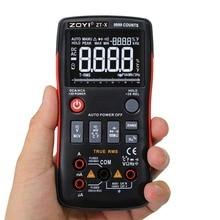 ZT Digital Icd Multimeter True RMS Auto Range Mastech Test Diode Multimeter ac dc multimetro 409 sanwa probe test lead Dropship цена