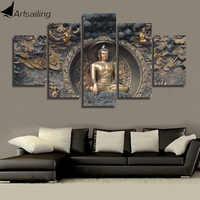 HD imprimé bouddha statue peinture mur art chambre décor impression affiche photo toile livraison gratuite/ny-1195