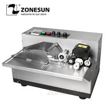 Машина для кодирования чернил ZONESUN MY380, принтер для кодирования карт и кодов, машина для печати даты, печатная машина с твердыми чернилами для непрерывной печати