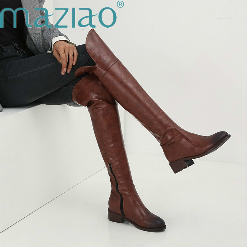 30+ Plus Size Over The Knee Boots Images
