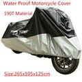 Motocicleta Capa de Chuva À Prova de Poeira Protetor de Moto Scooter de 265x105x125 cm