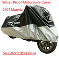 Motorcycle Cover Waterproof Rain Dust Protector Motorbike Scooter 265x105x125cm