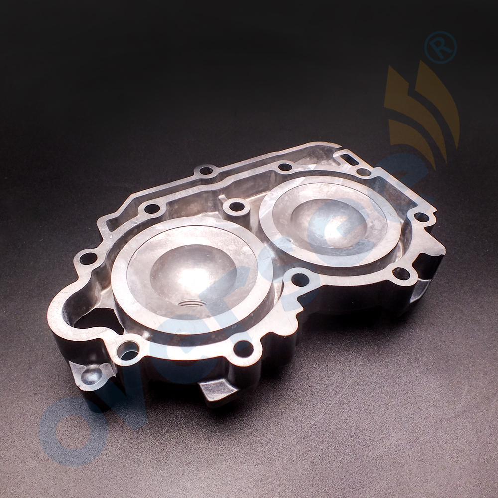 6B4-11111-00-1S Cylinder Head block For Yamaha 15HP 9.9HP 15D Outboard Engine Boat Motor Aftermarket Parts 6B4-11111 фото