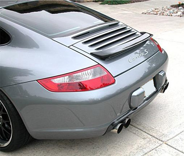 FOR Carbon Fiber 2006-2011 997 911 CARRERA Rear Wing Trunk Spoiler
