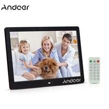 """Andoer 1"""" TFT светодиодный цифровое фото рамки 1280*800 цифровых носителях рекламы MP3 MP4 видеопроирыватель будильник цифровые фоторамки"""