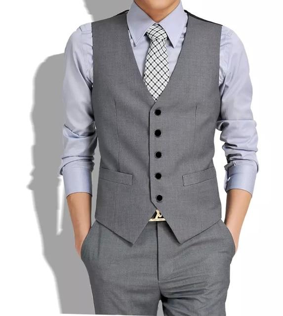 d3fed8fc3e2 New arrive gilets hot suit vest men spring 2017 fashion slim fitness men s  waistcoat blazer vests tops clothing HY822
