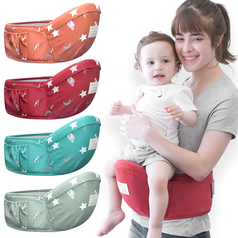 0-1Years Baby Hip Seat Carrier Waist Stool Walkers Hold Waist Belt Backpack Carrier Kids Infant Comfort Hipseat Waist Seat