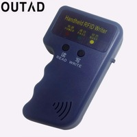 OUTAD Handheld 125KHz EM4100 RFID Copier Writer Duplicator Programmer Reader 20000 Times Writer For EM4305 T5577