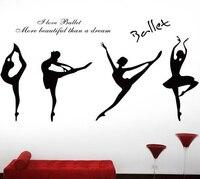 Multi-Color pvc водонепроницаемый Телевизор с гобелены свадебные украшения, настенные наклейки танцующая девушка stick танцевальной музыки художес...