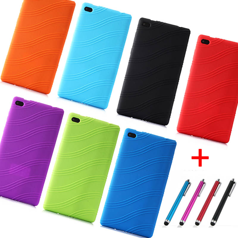 Case Essential Skin Back-Cover Tablet Lenovo Silicone Soft For Tab-7/Essential-tb-7304f/i-/..